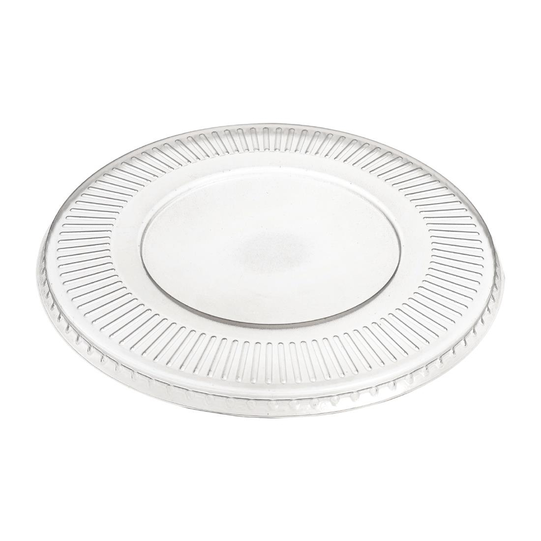 Image of Solia Recyclable Polypropylene Mix Bagasse Bowl Lids 1500ml (Pack of 50) Pack of 50