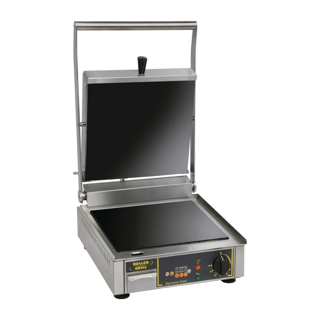 Image of Roller Grill Premium VC FT Single Ribbed Contact Grill