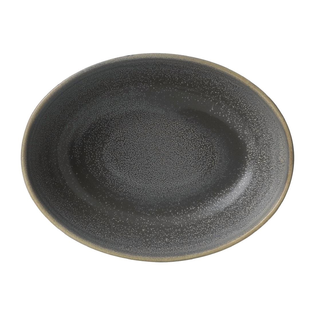 Image of Dudson Evo Granite Deep Oval Bowl 216 x 162mm (Pack of 6) Pack of 6