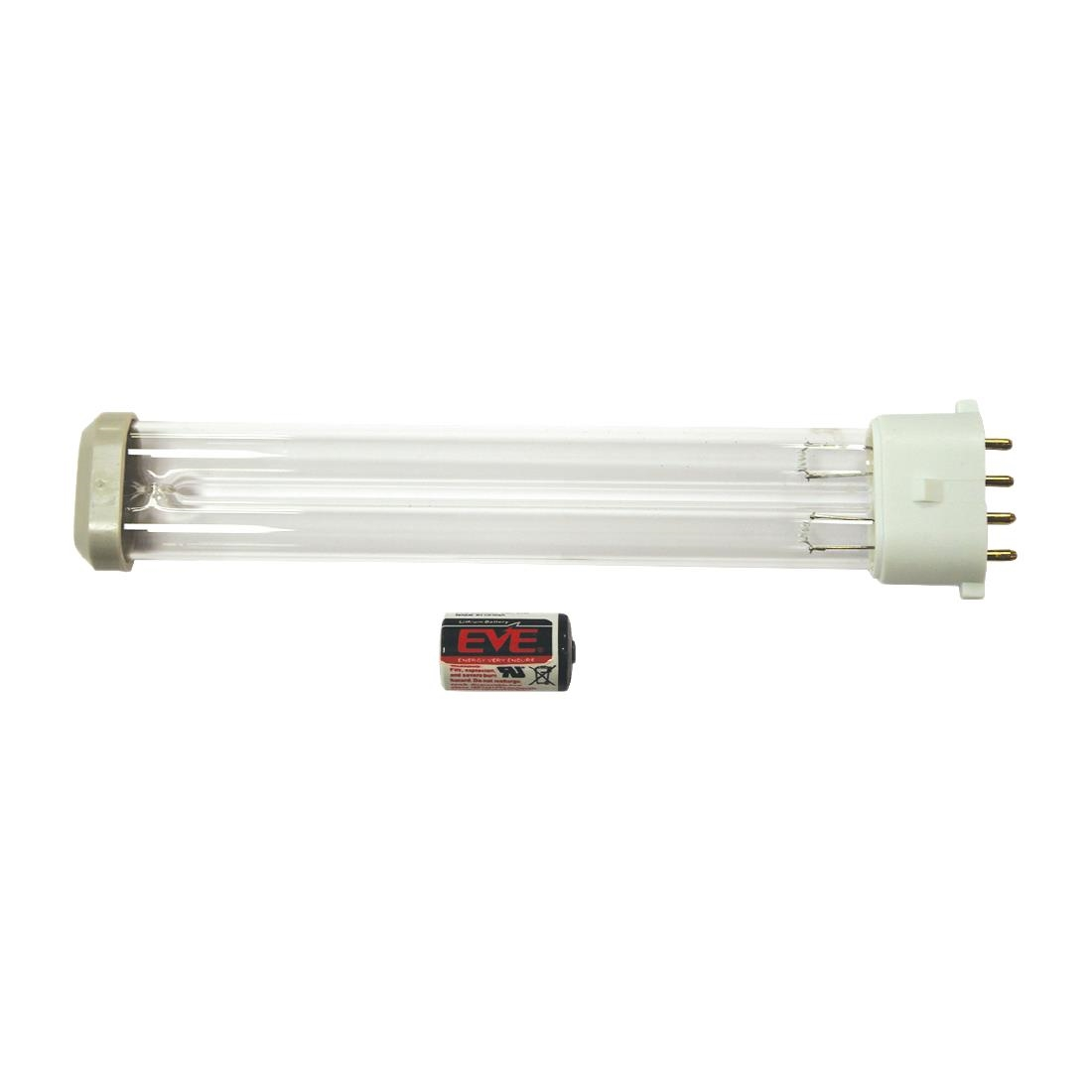 Image of HyGenikx System Replacement Lamp and Battery Silver/grey Cap HGX-15-R