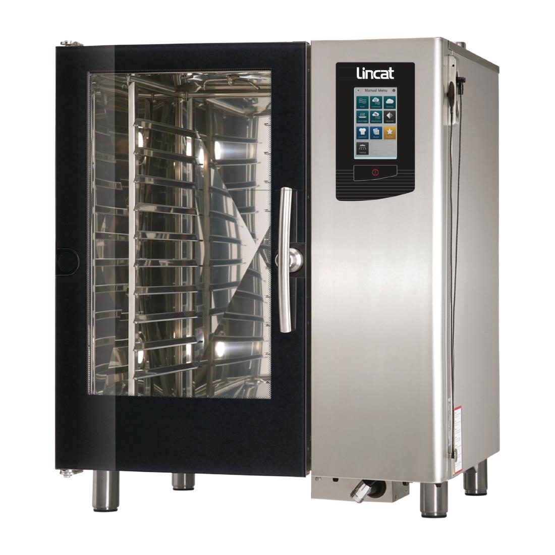 Image of Lincat Visual Cooking Electric Boiler Countertop Combi Oven 10 Grid LC110B Oven Only
