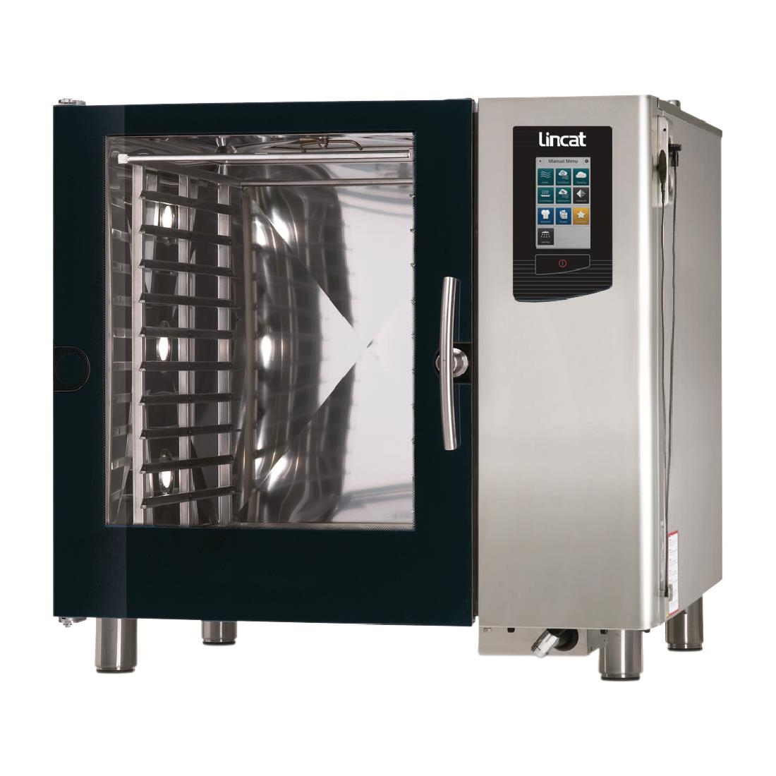 Click to view product details and reviews for Lincat Visual Cooking Propane Gas Boiler Countertop Combi Oven 10 Grid Lc210b With Install.