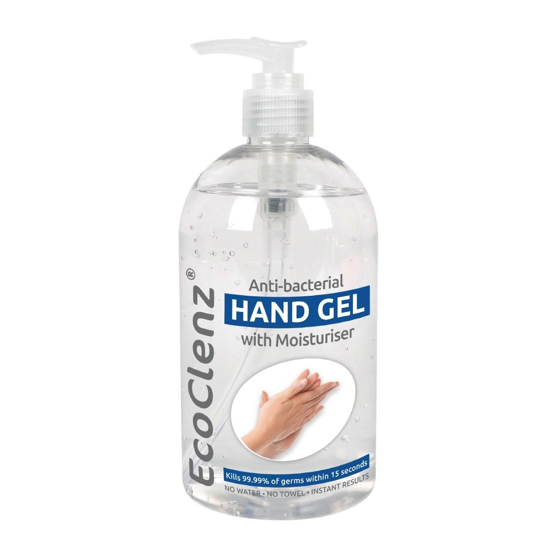 Image of EcoClenz Anti-Bacterial Hand Gel 500ml