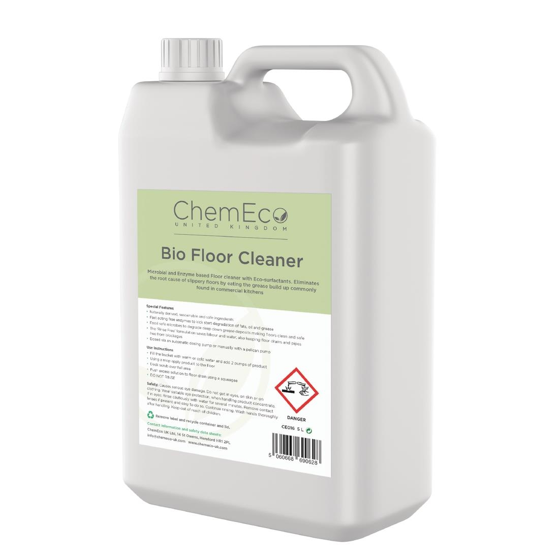 Image of ChemEco Bio Floor Cleaner 5Ltr (Pack of 2)