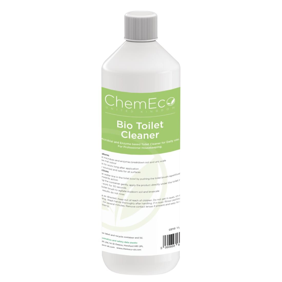 Image of ChemEco Bio Toilet Cleaner 1Ltr (Pack of 6)