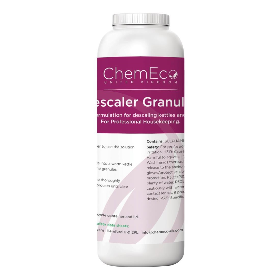 Image of ChemEco Descaler Granules 500g (Pack of 6)
