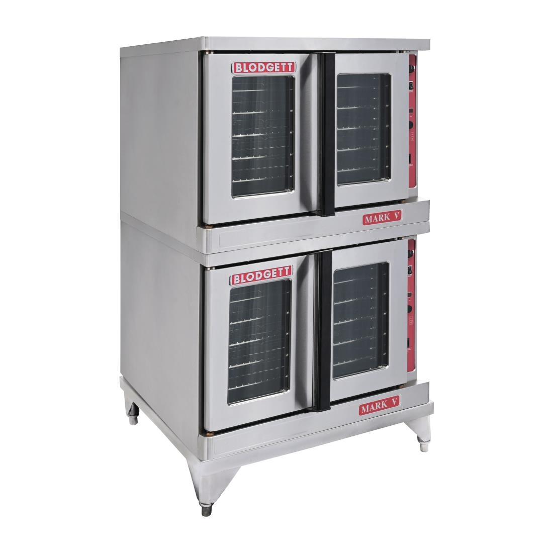 Image of Blodgett Double Door Stacked Convection Oven Mark V-2