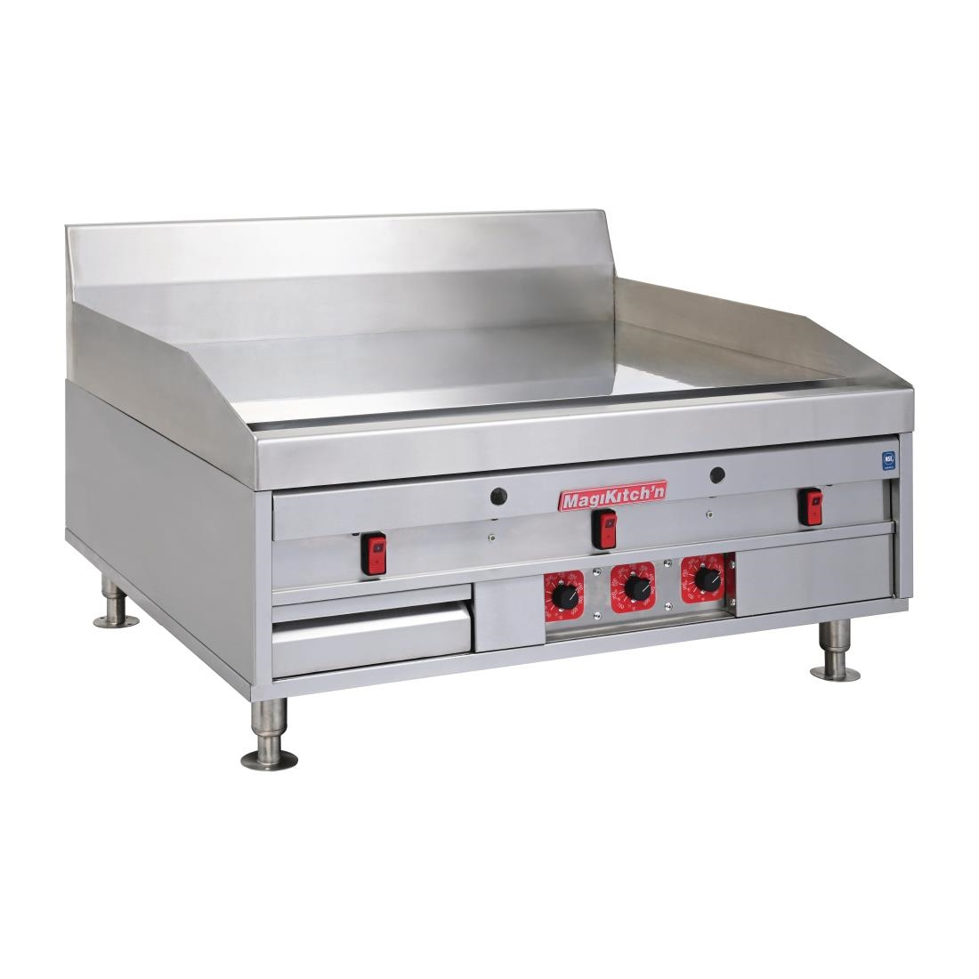 Image of MagiKitchn Heavy Duty Chrome Griddle MKE36