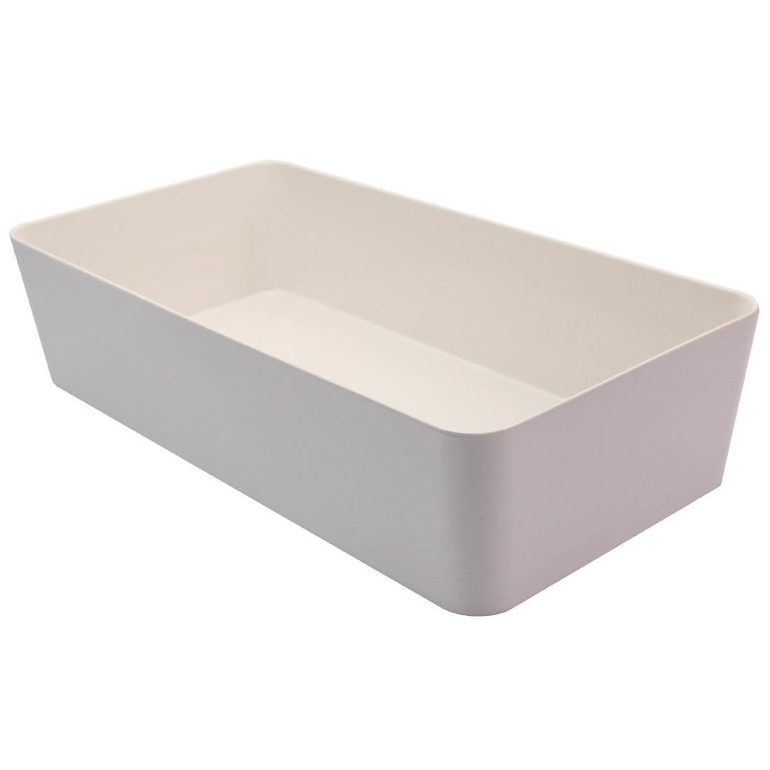 Image of Creative Melamine Bento Box Outer Box White 348x180x78mm (Pack of 3)