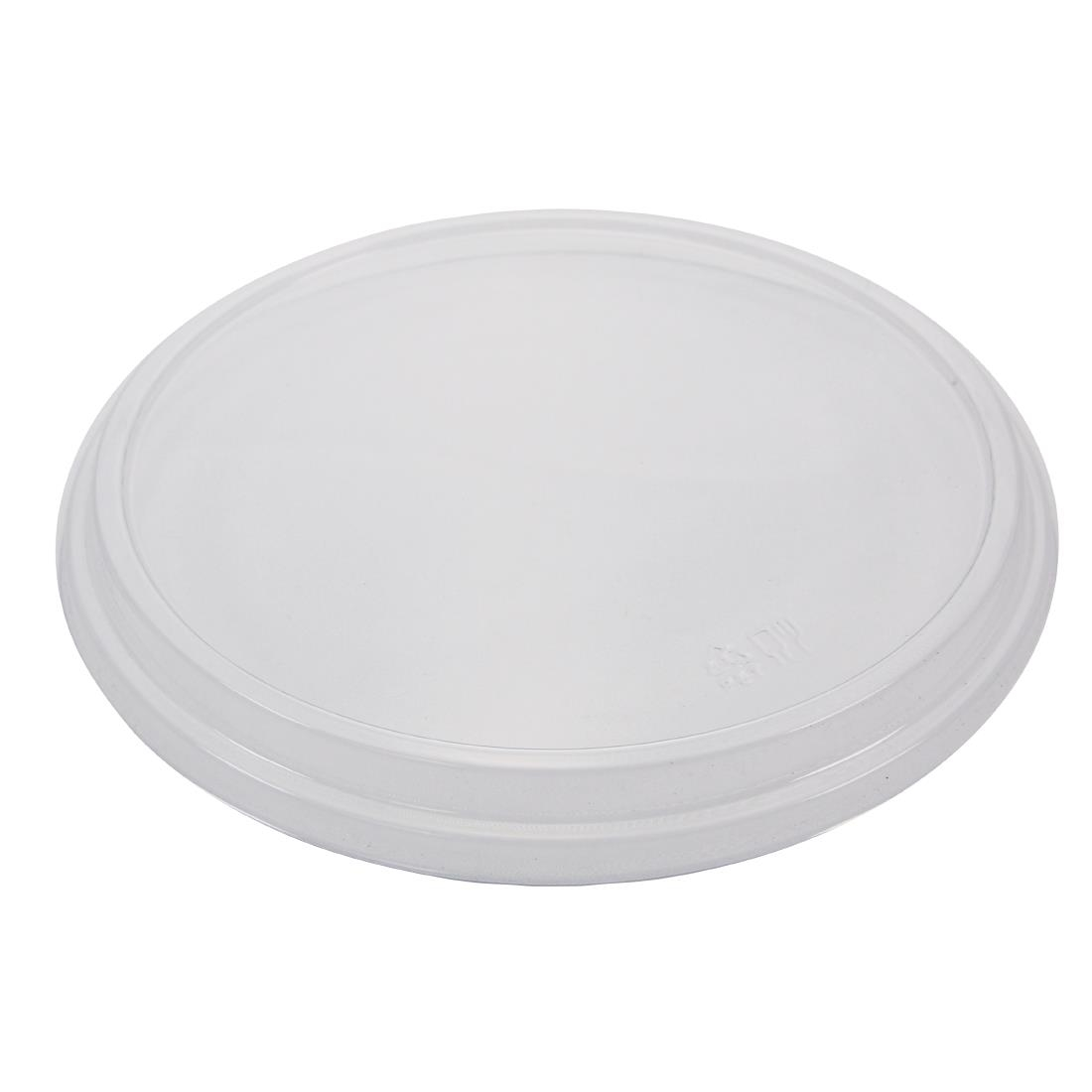 Image of Creative PET Salad Box Lids Clear 205x145mm (Pack of 50)