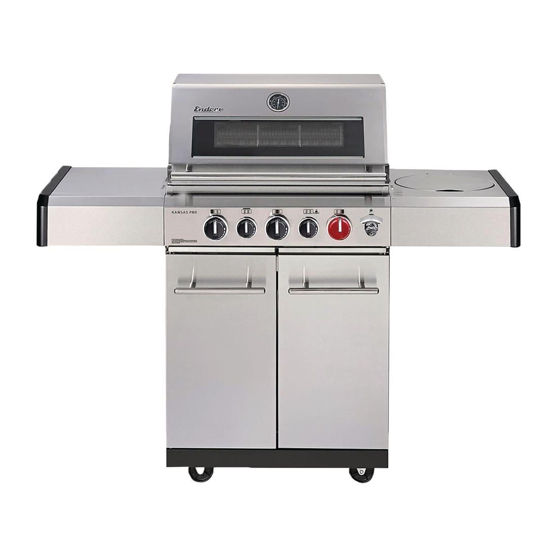 Image of Enders from Lifestyle Kansas Pro 3 Sik Turbo Gas Barbecue