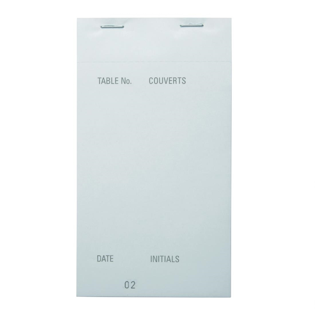 Image of Carbonless Waiter Pad Duplicate Large (Pack of 50) Pack of 50
