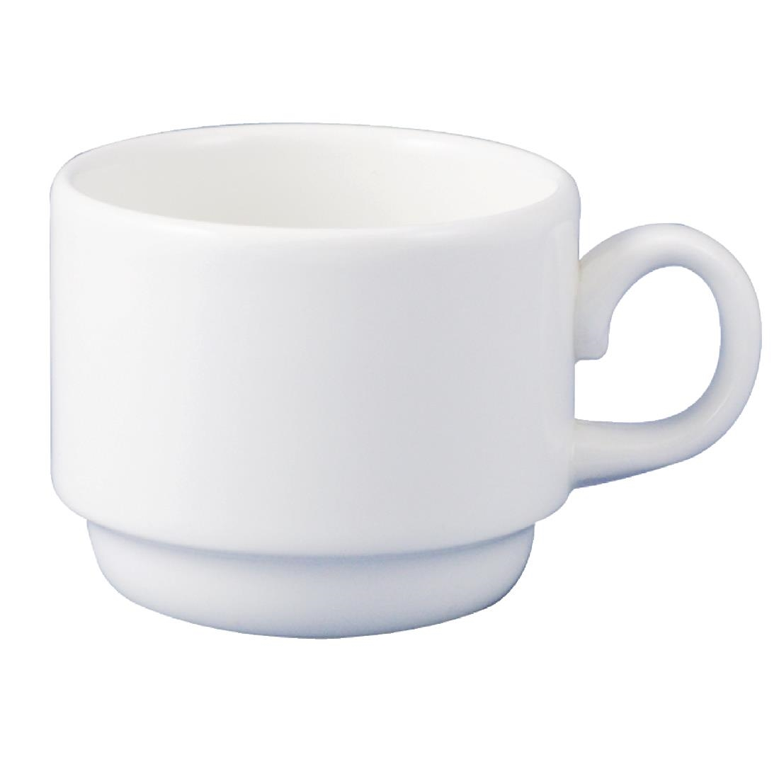 Image of Dudson Classic After Dinner Stackable Cups 130ml (Pack of 36) Pack of 36