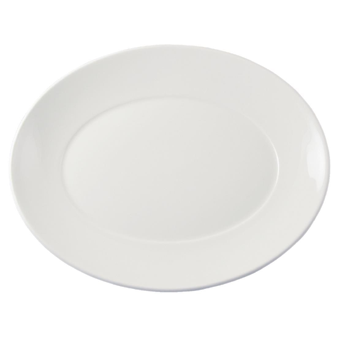 Image of Dudson Flair Oval Platters 345mm (Pack of 12) Pack of 12
