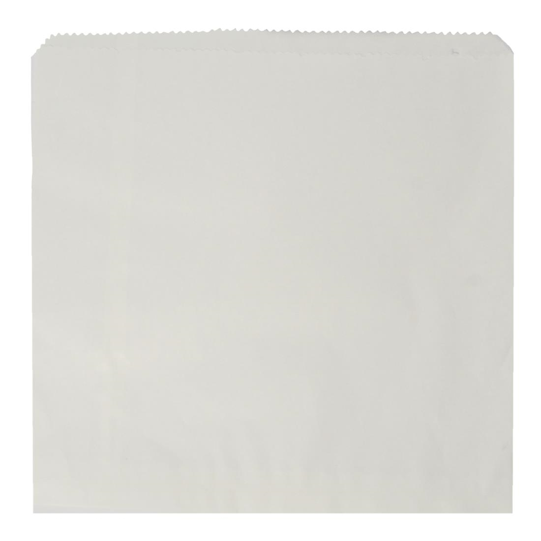 Vegware Compostable Recycled Flat Sandwich Bags White Pack of 1000
