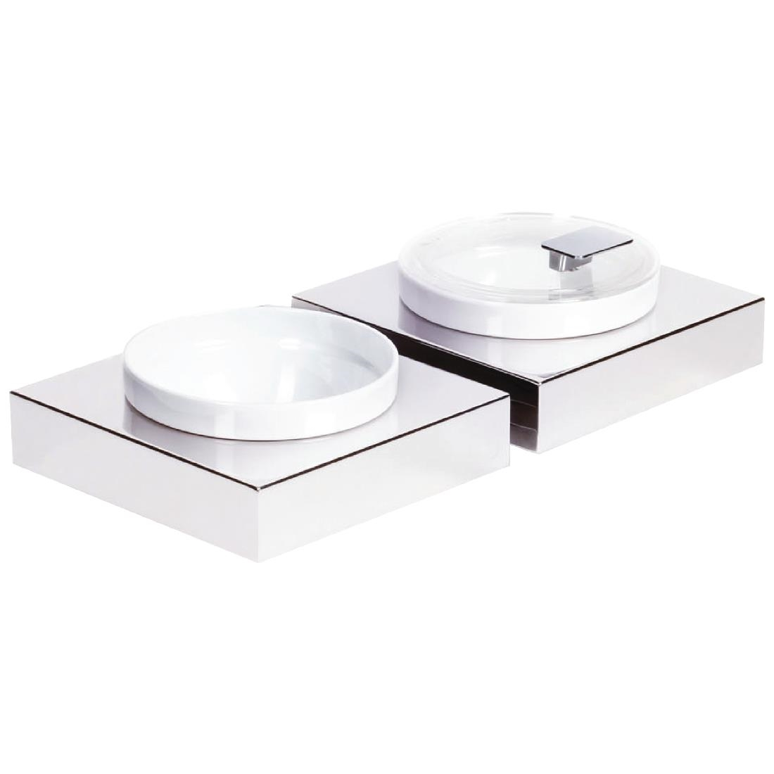 APS Frames Stainless Steel Small Square Buffet Bowl Box - GC922 ...