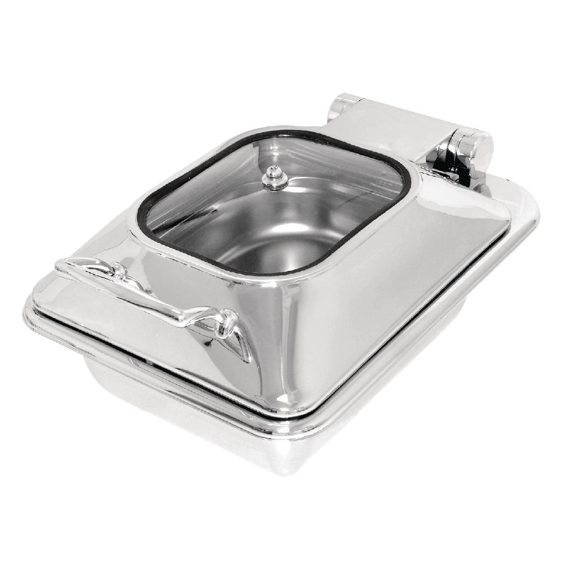 olympia induction chafer 12 glass lid
