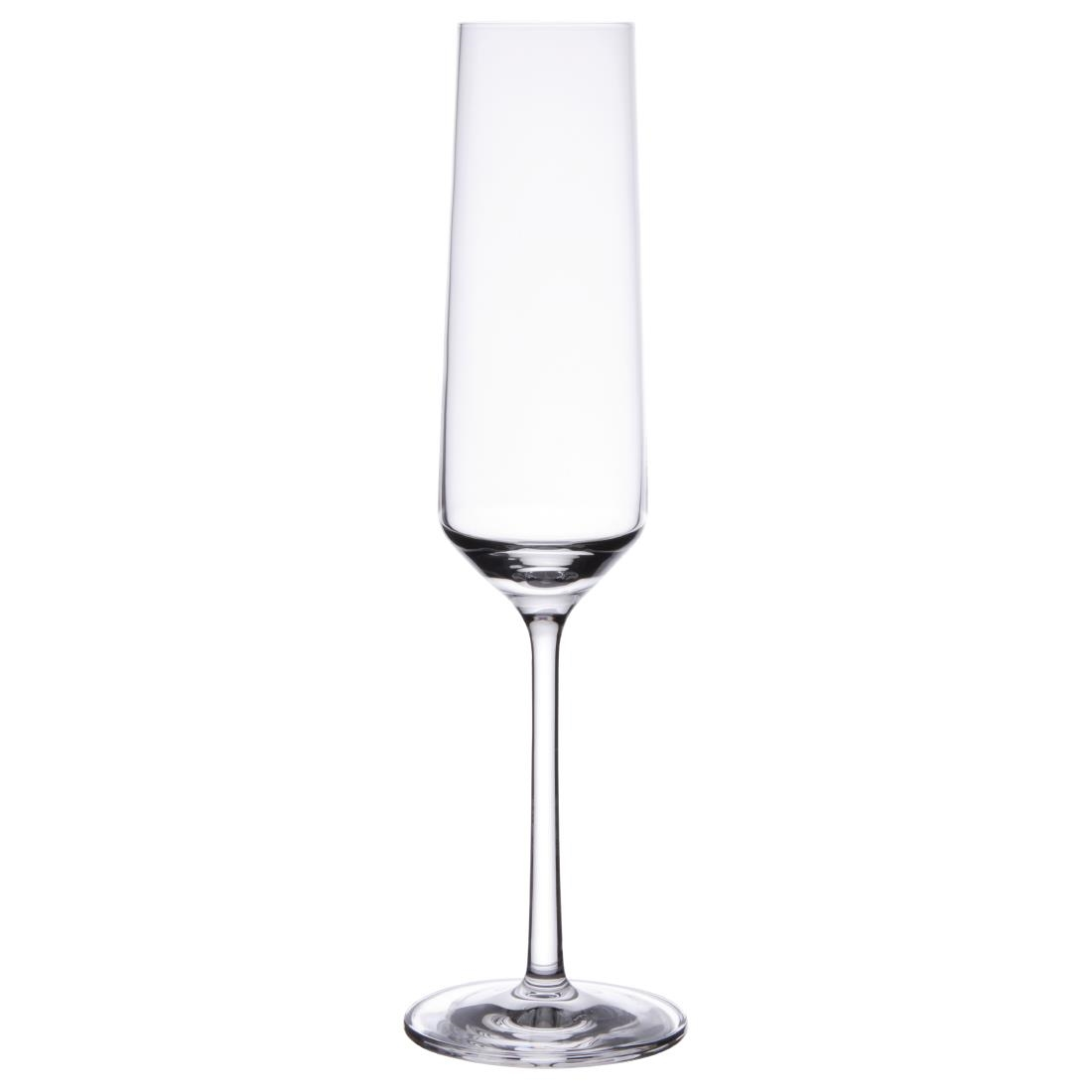 Schott Zwiesel Pure Crystal Champagne Flutes 215ml (Pack of 6) Pack of 6 Image