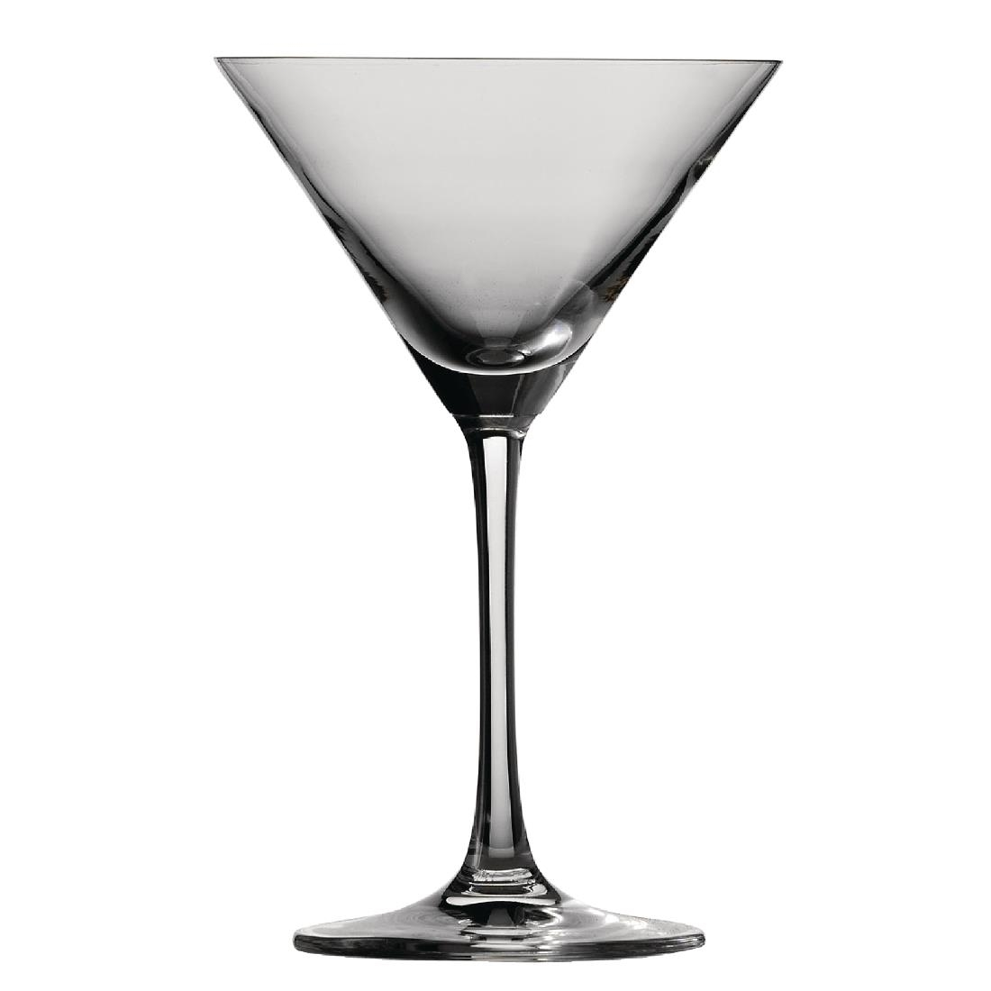 Schott Zwiesel Bar Special Crystal Martini Glasses 166ml (Pack of 6) Pack of 6 Image