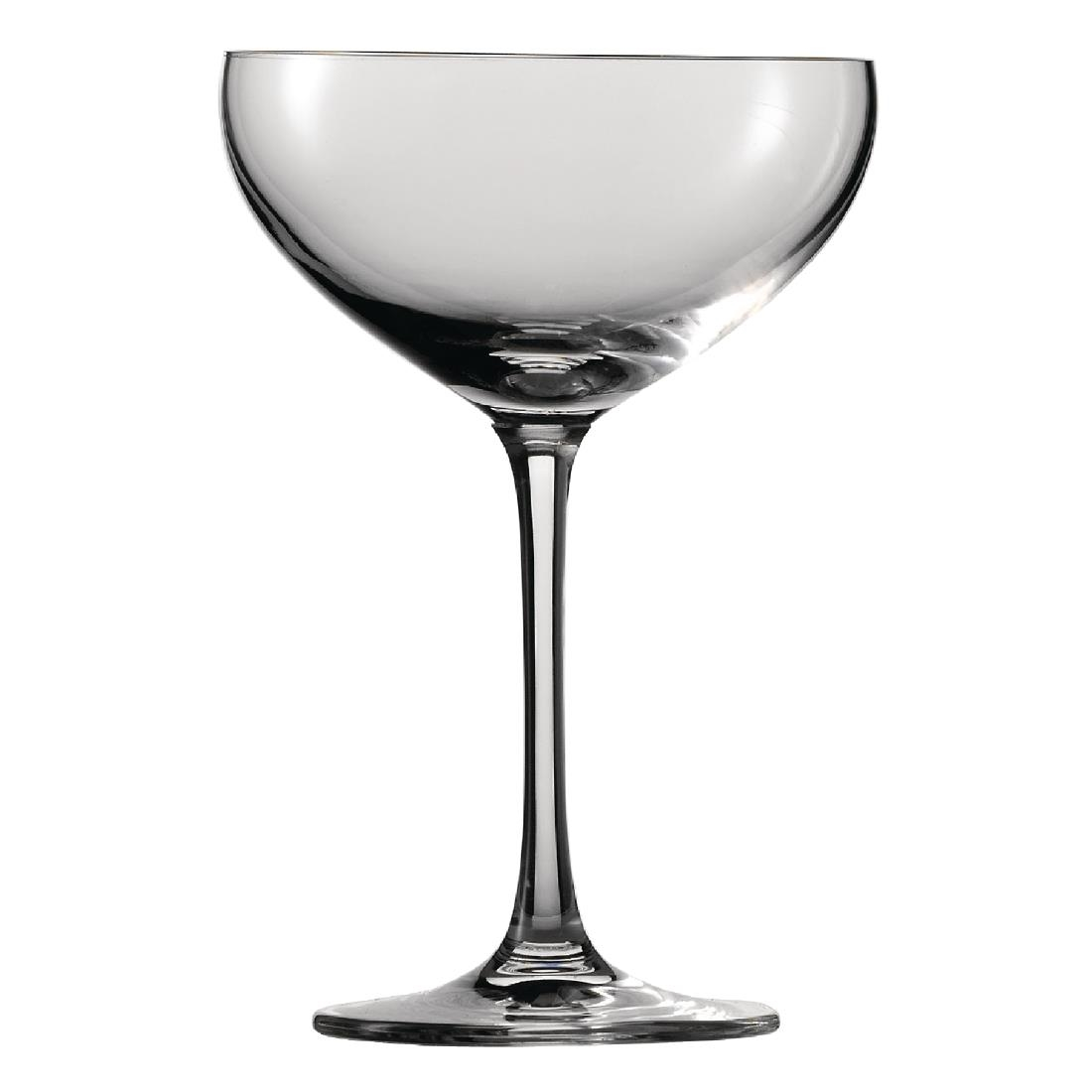 Schott Zwiesel Bar Special Crystal Champagne Saucers 281ml (Pack of 6) Pack of 6 Image