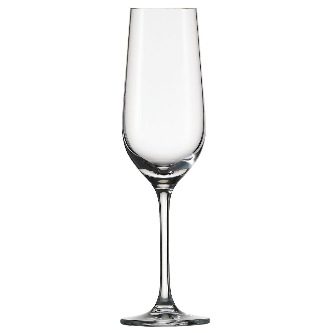 Schott Zwiesel Bar Special Crystal Champagne Flutes 174ml (Pack of 6) Pack of 6 Image