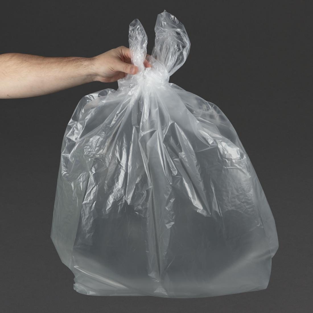 Click to view product details and reviews for Jantex Large Medium Duty Clear Bin Bags 80ltr Pack Of 200 Pack Of 200.