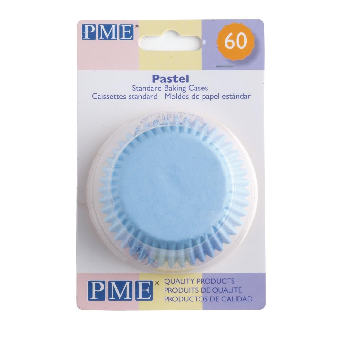 PME Golden Star Cupcake Cases Pack of 60