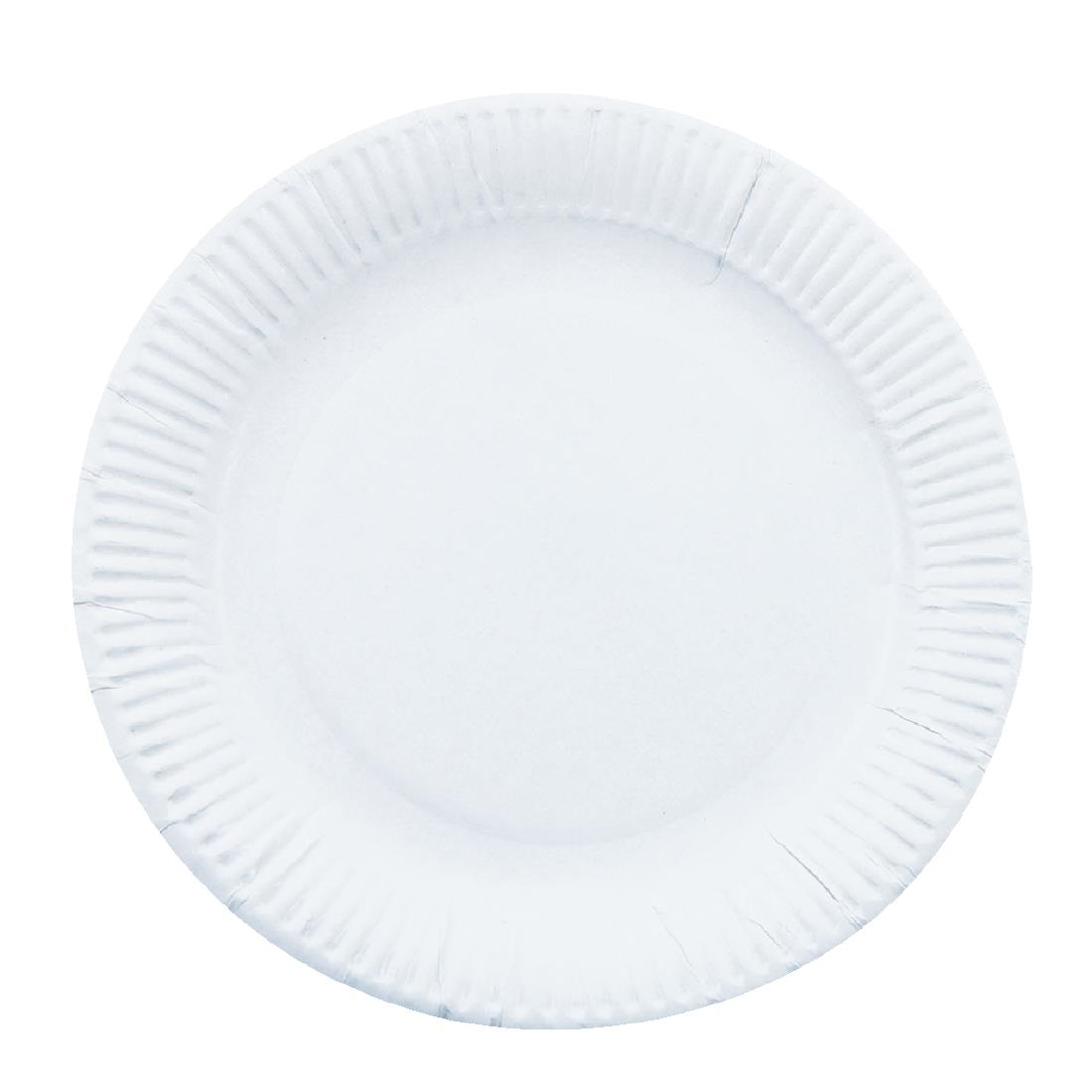Image of Paper Plates 178mm (Pack of 250) Pack of 250