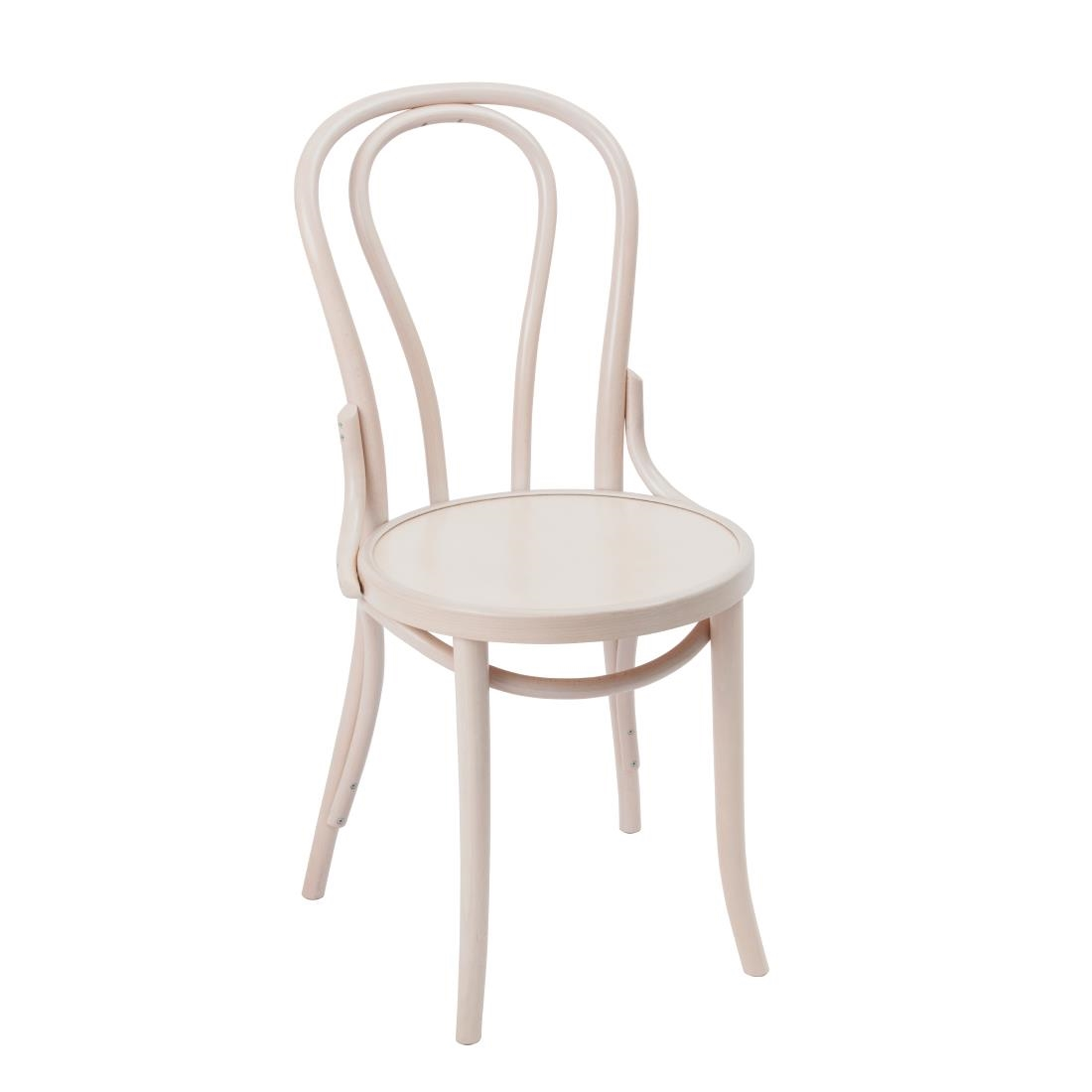 Bentwood chairs white -  Fameg Bentwood Bistro Sidechair White Pack Of 2