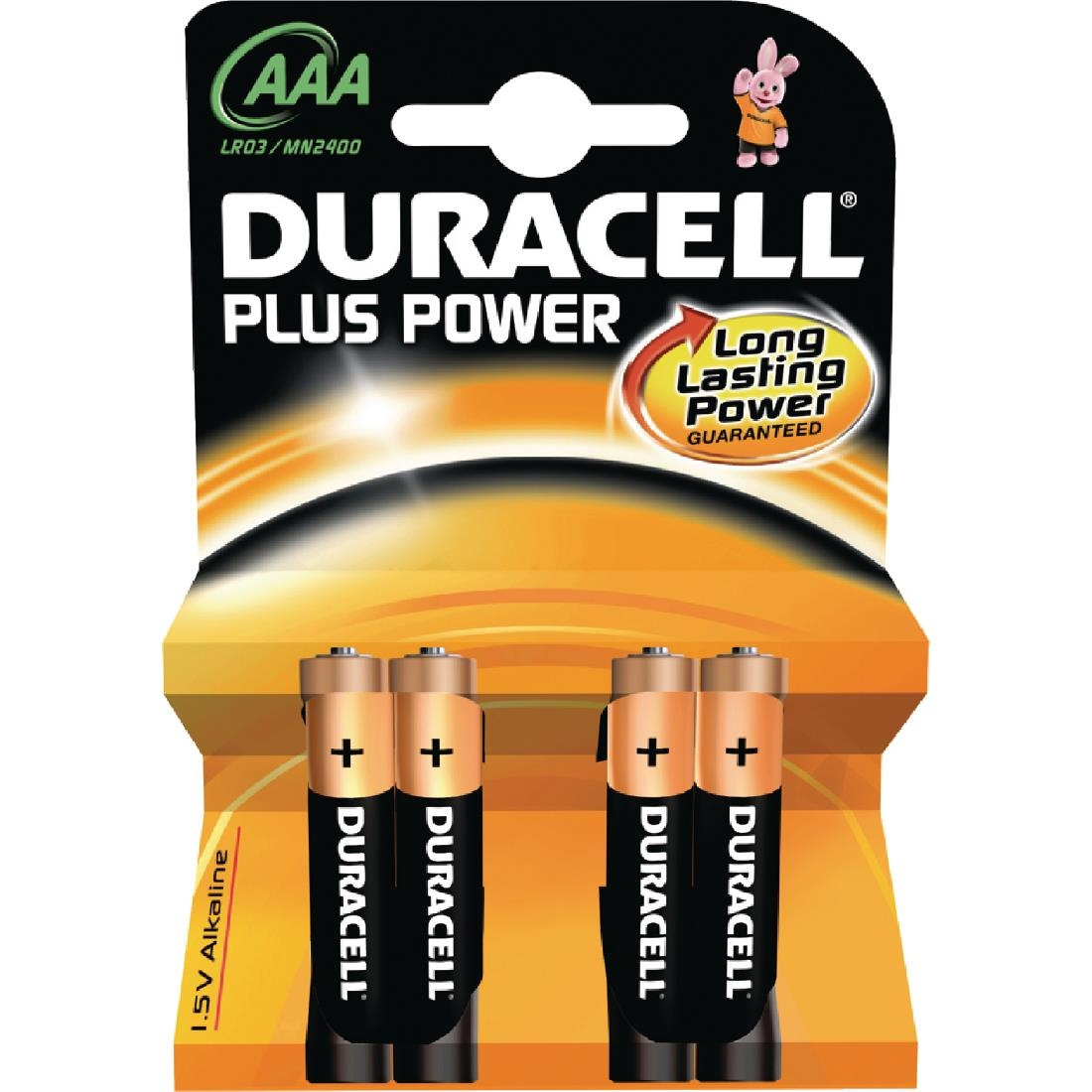 Image of Duracell AAA Batteries (Pack of 4) Pack of 4