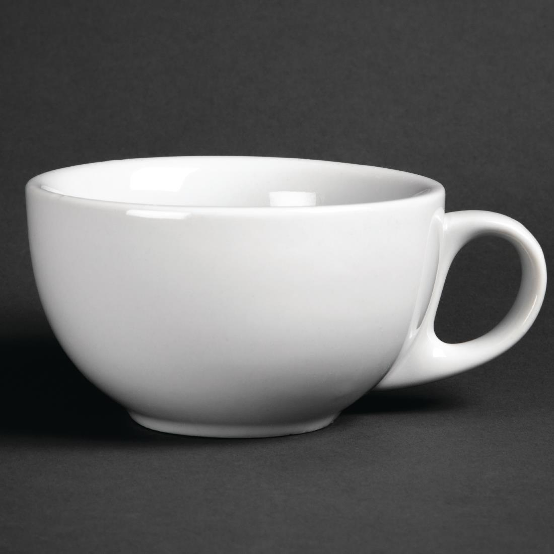 Image of Athena Hotelware Cappuccino Cups 10oz 285ml (Pack of 12) Pack of 12
