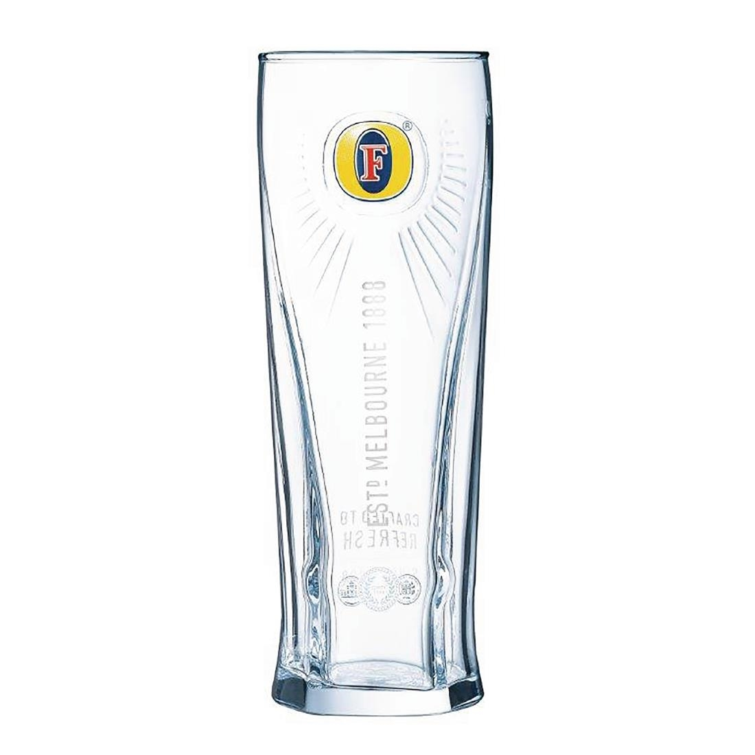 Image of Arcoroc Fosters Beer Glasses 570ml CE Marked (Pack of 24) Pack of 24