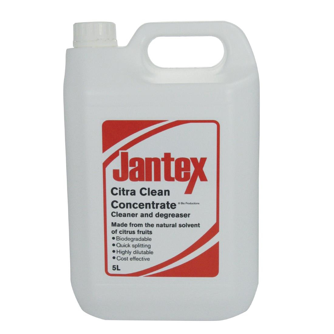Jantex Orange Based Citrus Cleaner and Degreaser 5 Litre (Pack of 2 ...