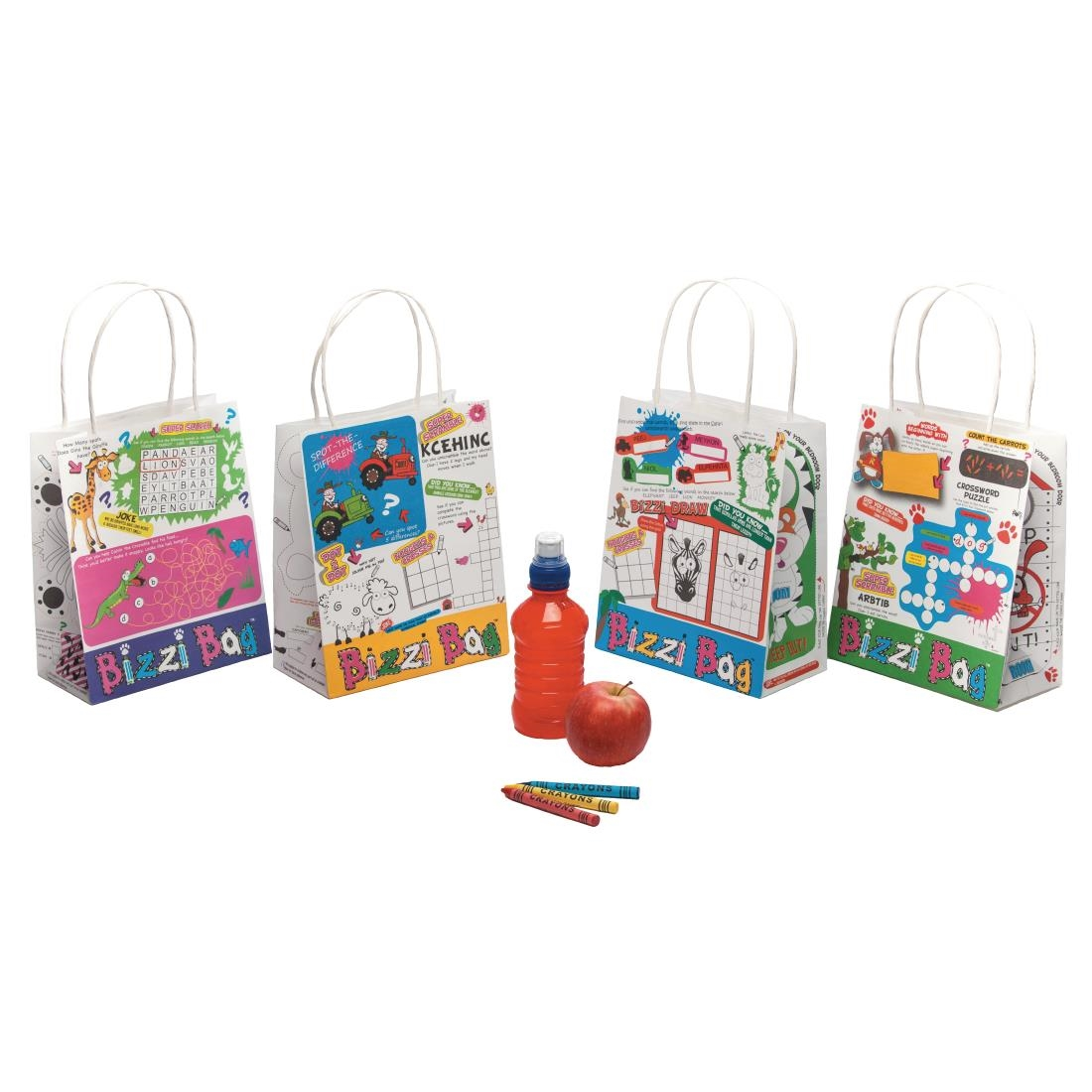 Image of Bizzi Assorted Kids Meal Bags (Pack of 200) Pack of 200