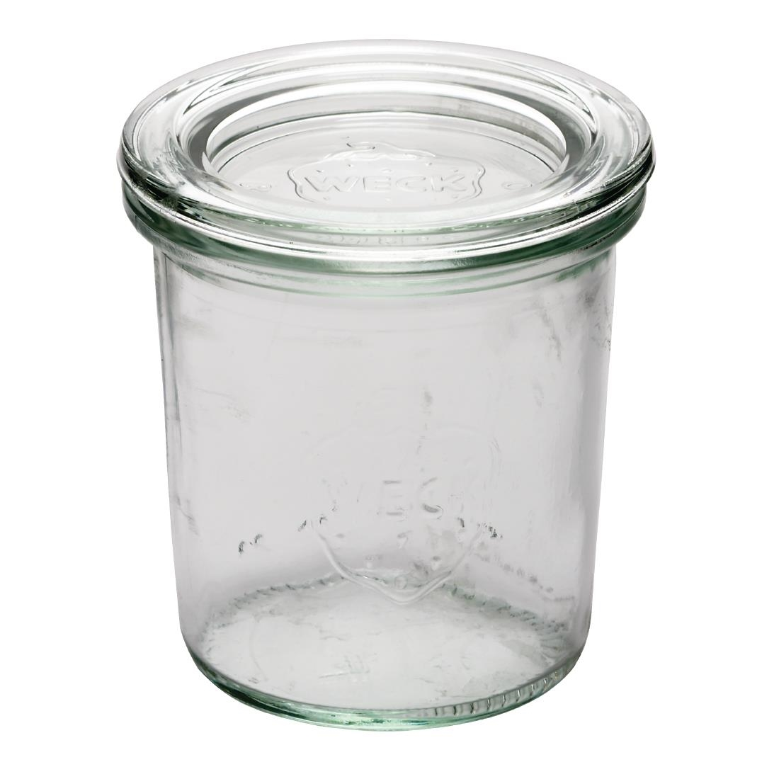 Image of APS 140ml Weck Jar (Pack of 12) Pack of 12