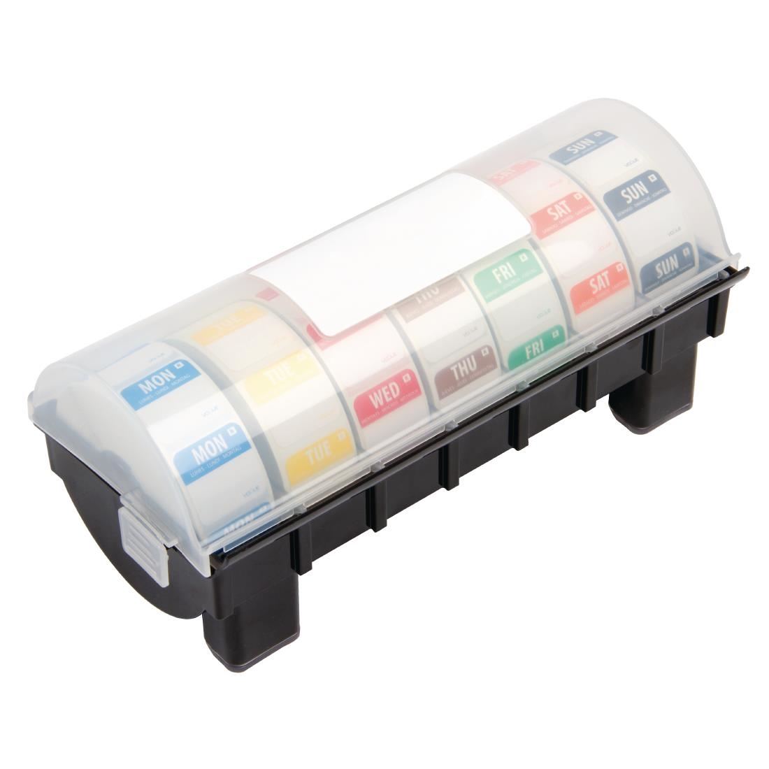 Removable Colour Coded Food Labels with 1 Dispenser