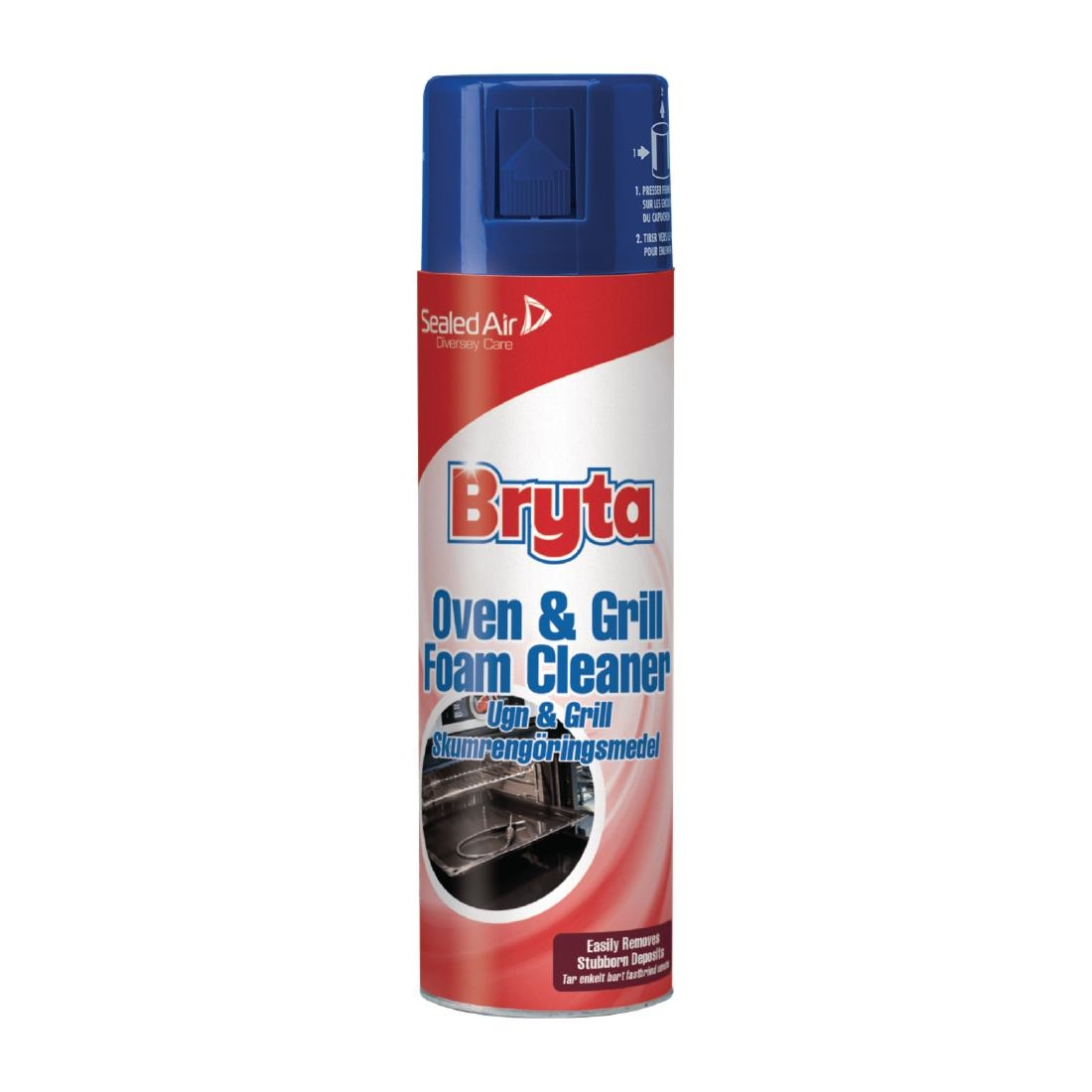 Image of Bryta Foam Grill and Oven Cleaner Ready To Use 500ml