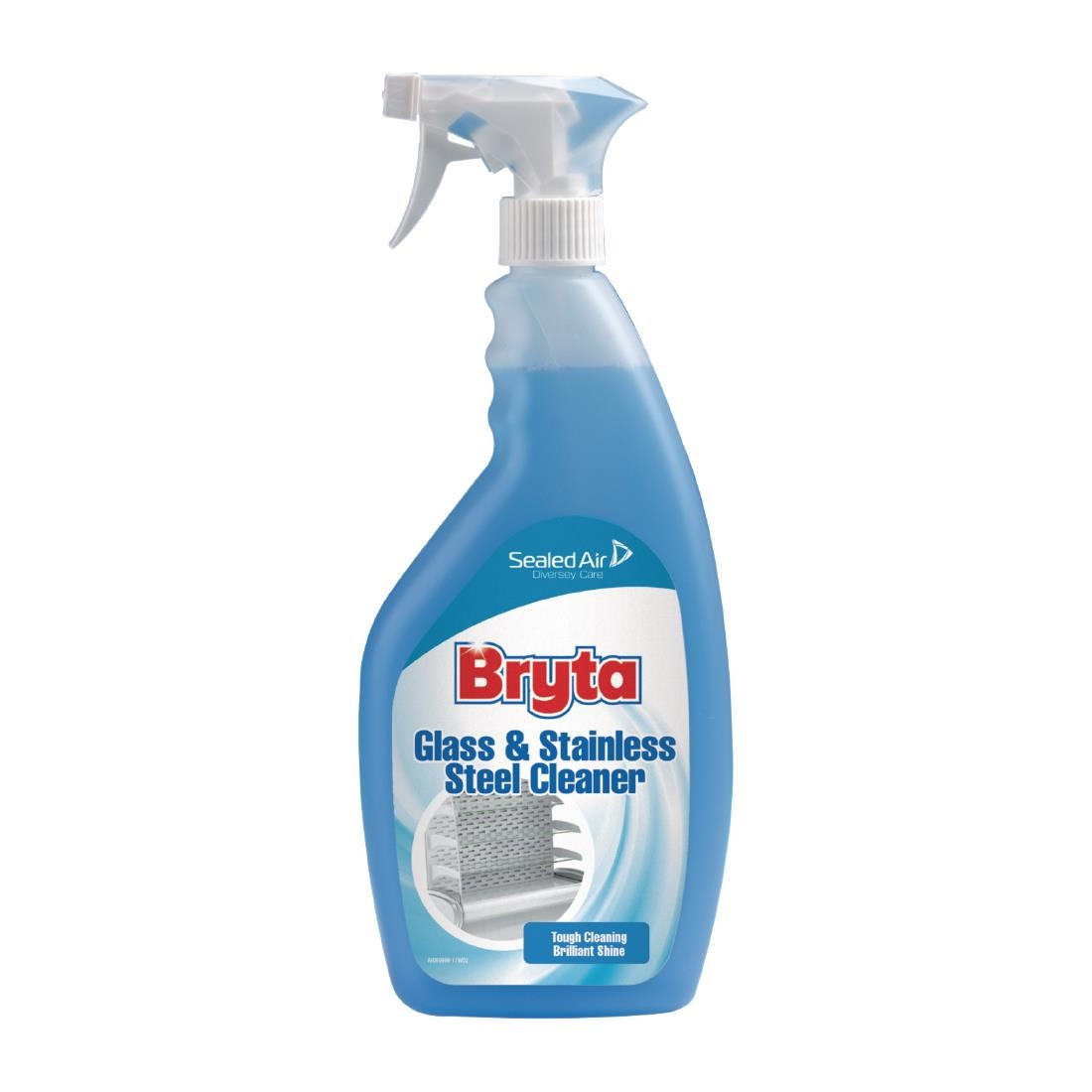 Image of Bryta Glass and Stainless Steel Cleaner Ready To Use 750ml
