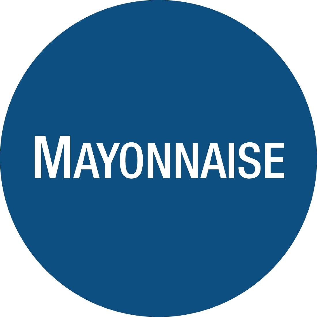 FIFO Sauce Bottle Mayonnaise Labels Pack of 24