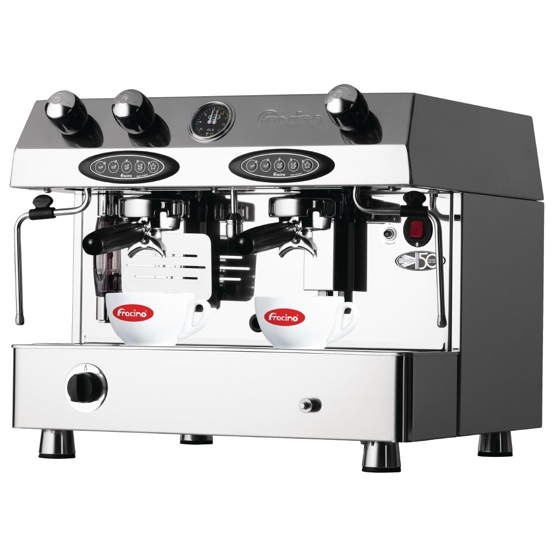 Fracino Contempo Dual Fuel Coffee Machine Automatic 2 Group CON2E GAS