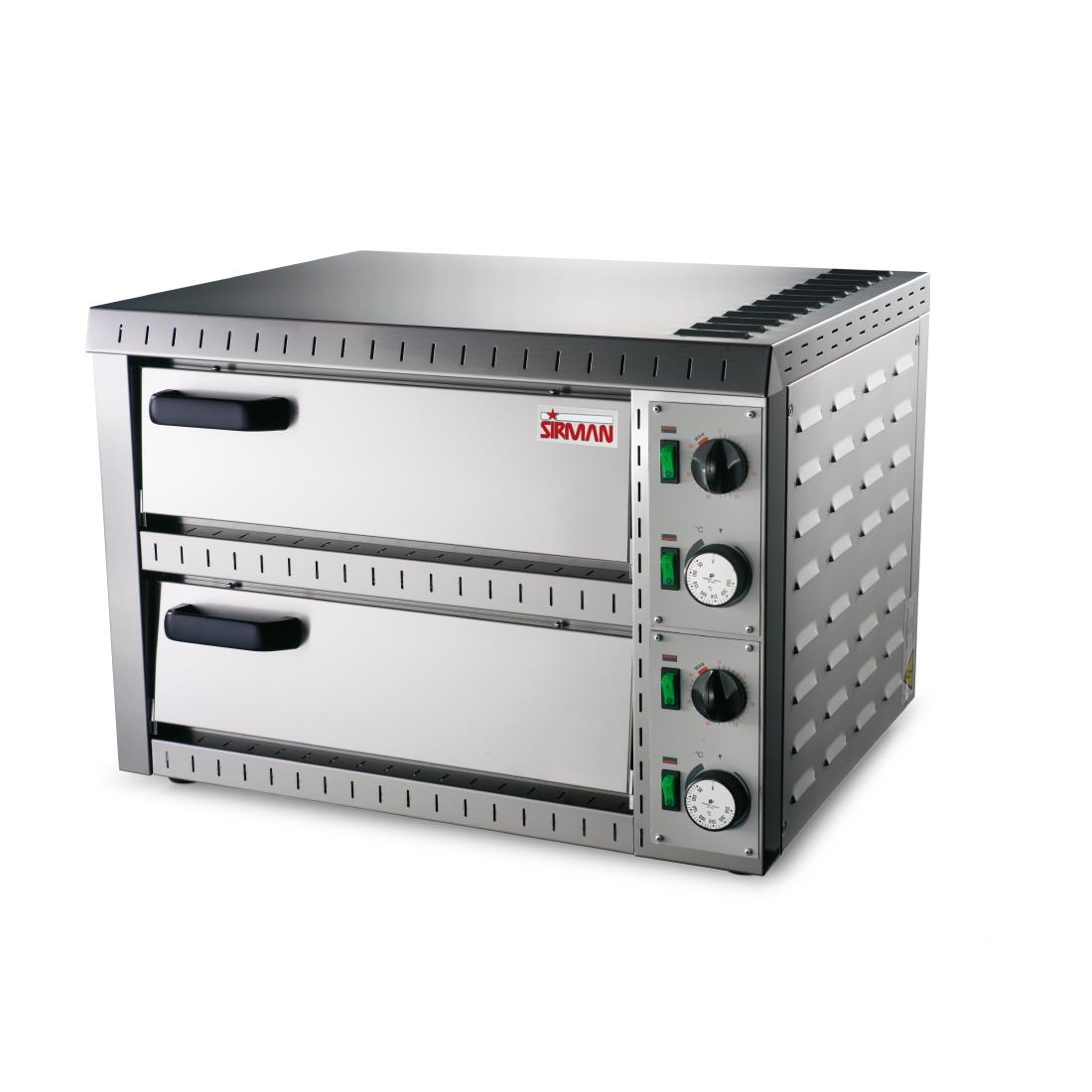 Sirman Stromboli Double Deck Pizza Oven - GK059 - Buy Online at Nisbets