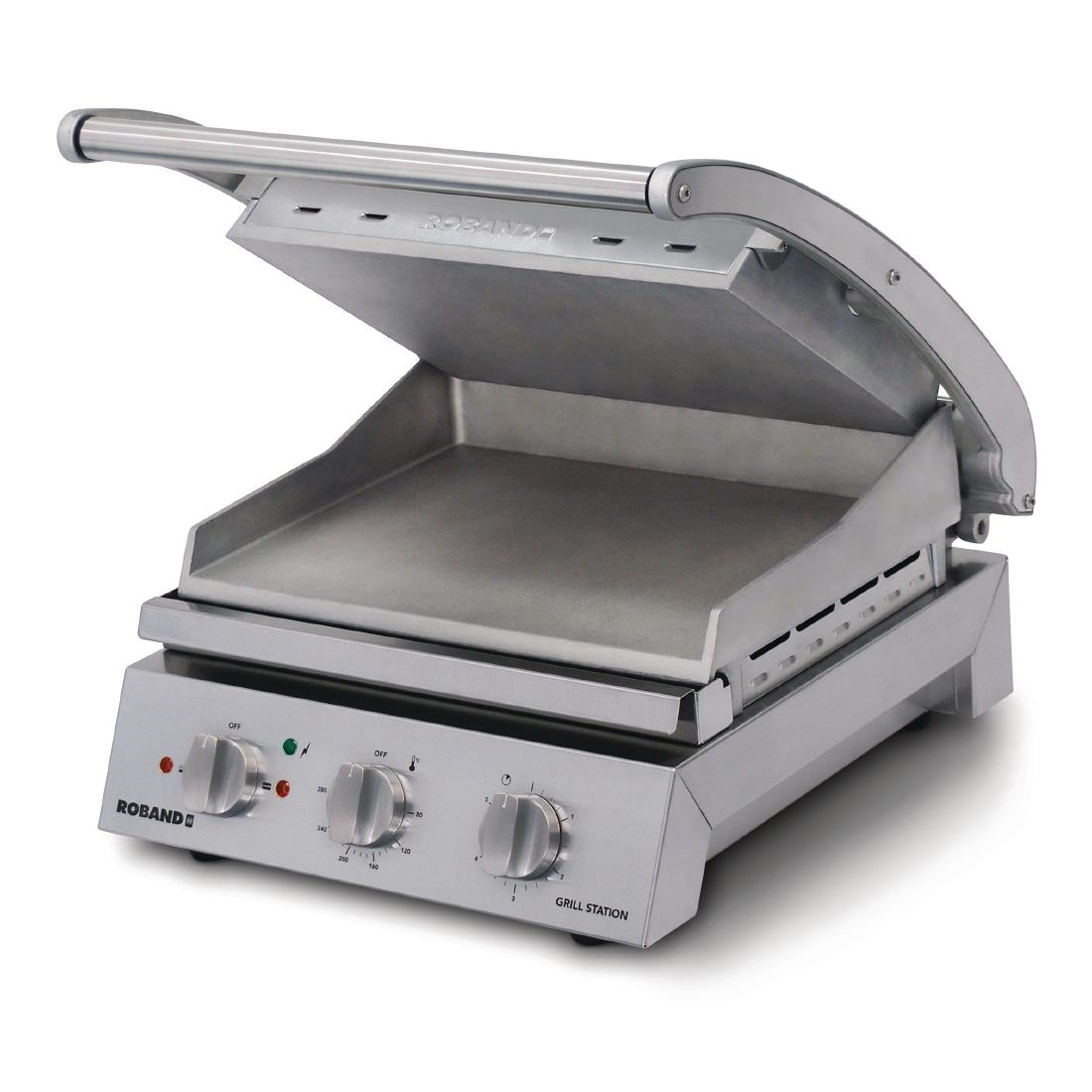 Click to view product details and reviews for Roband Contact Grill 6 Slice Smooth Plates 2200w Gsa610s.