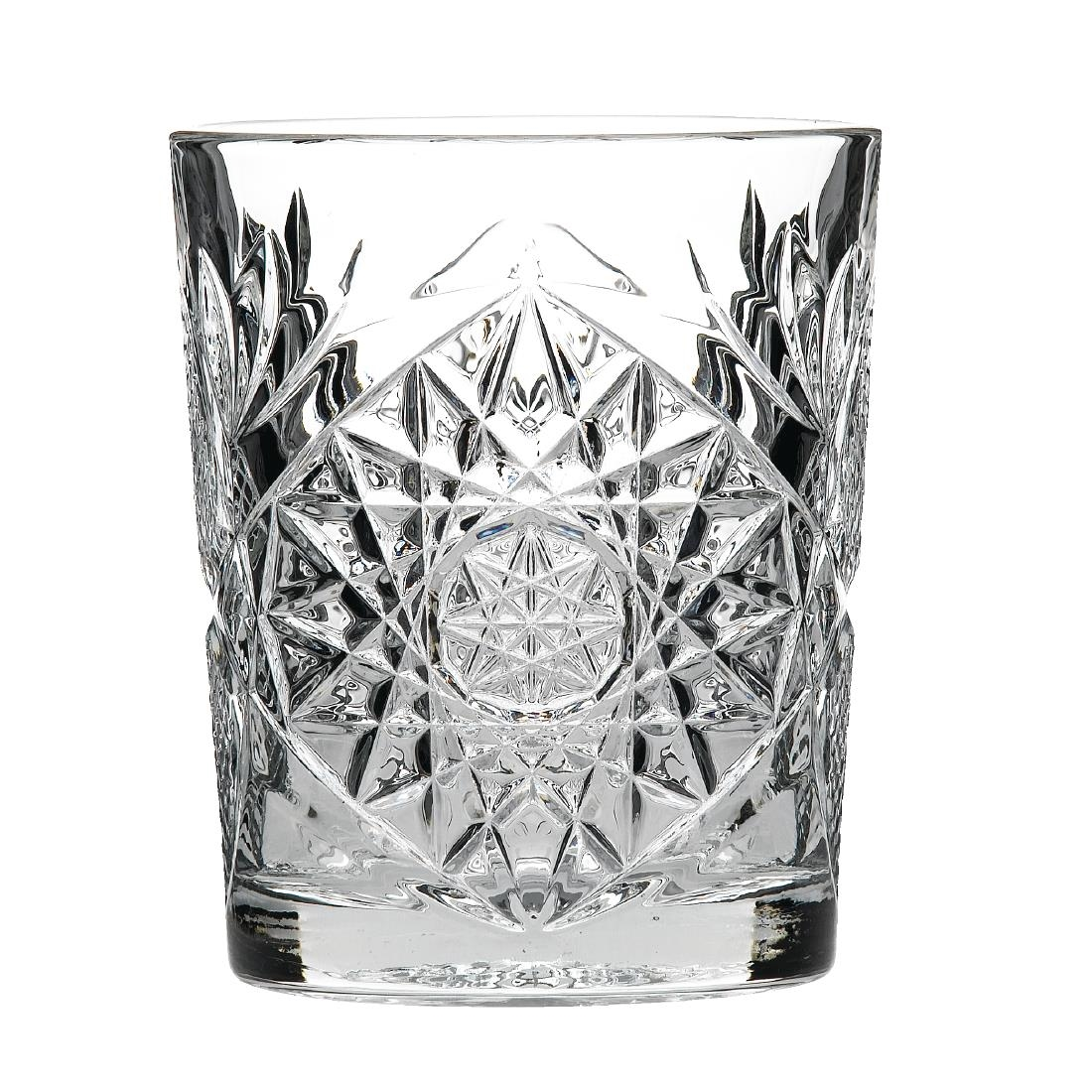 Image of Artis Hobstar Double Old Fashioned Whiskey Glass 350ml (Pack of 12) Pack of 12