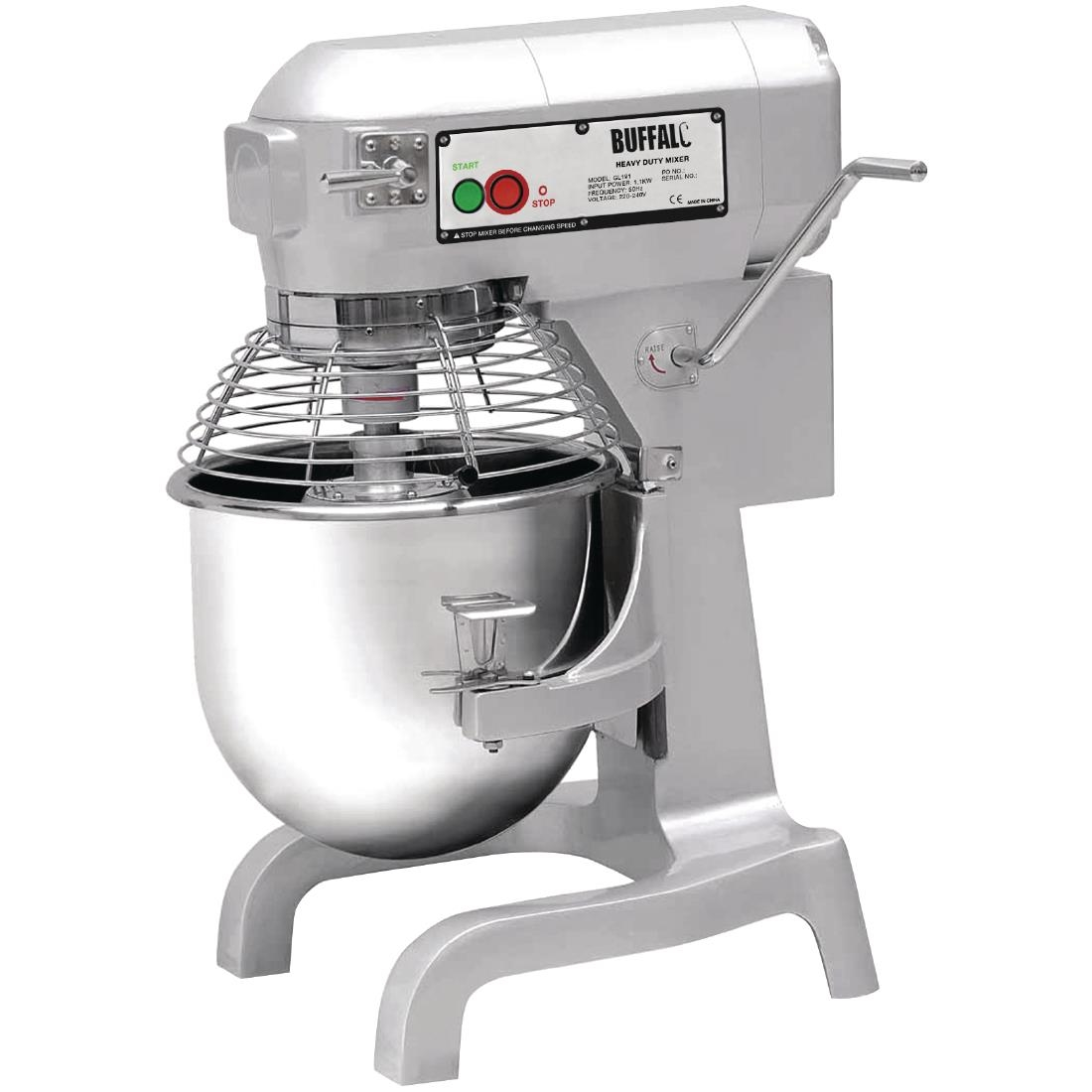 Buffalo Planetary Mixer 20ltr Gl191 Buy Online At Nisbets Dough Wiring Diagram 1100w