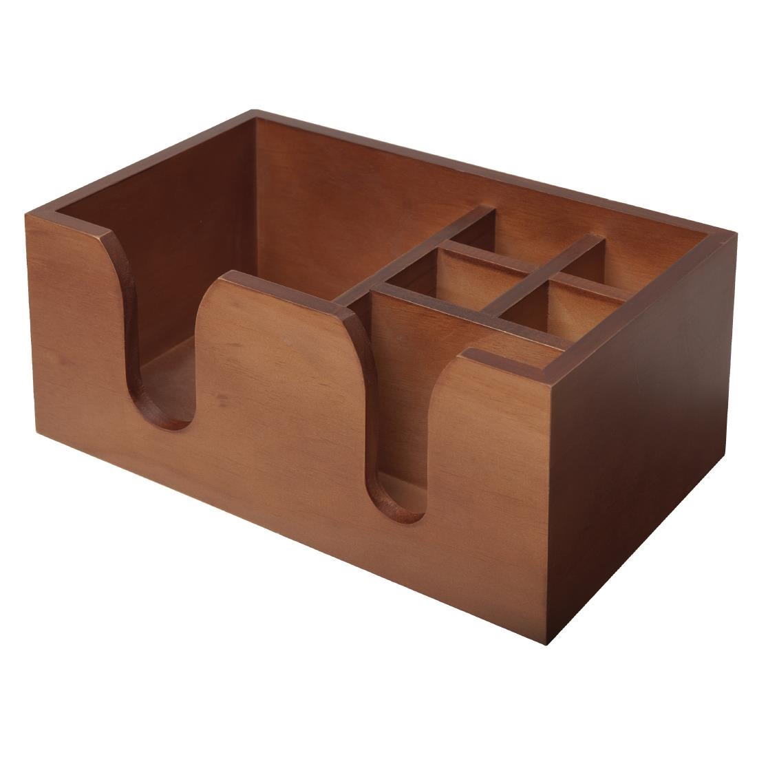 Image of Beaumont Solid Wood Bar Caddy