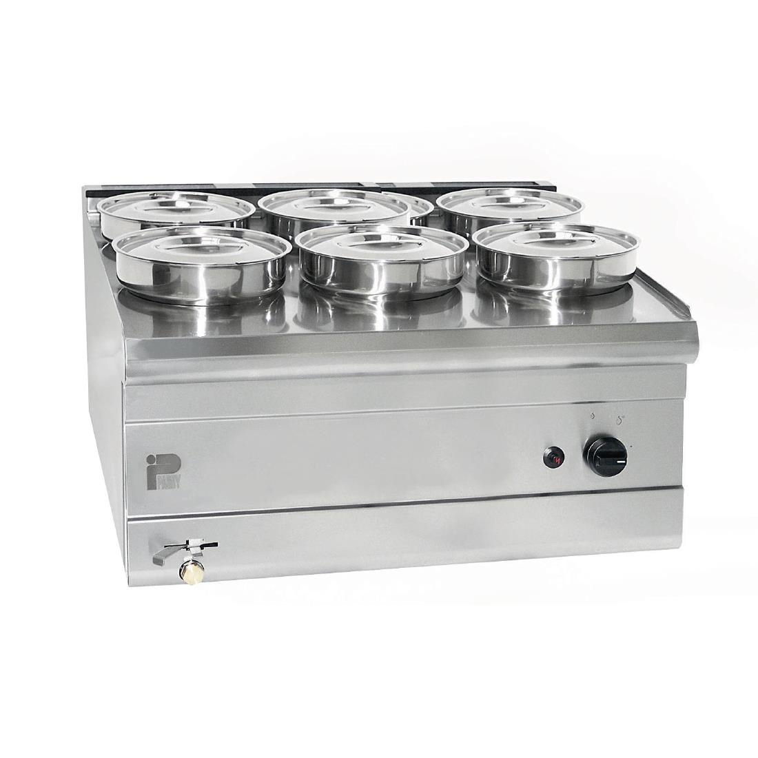 Parry 4 pot bain marie 3015 for Cuisson four bain marie