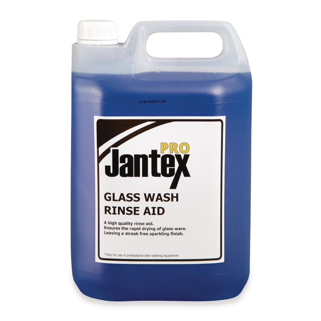 Image of Jantex Pro Glasswasher Rinse Aid Concentrate 5Ltr