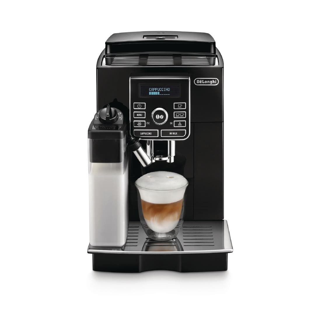 Delonghi Coffee Maker In Ksa : DeLonghi ESAM04110S Magnifica Bean to Cup Espresso Maker
