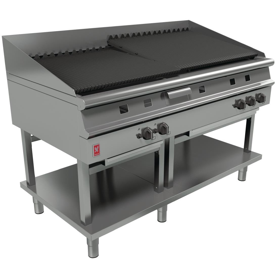 Image of Falcon Dominator Plus Natural Gas Chargrill On Fixed Stand G31525