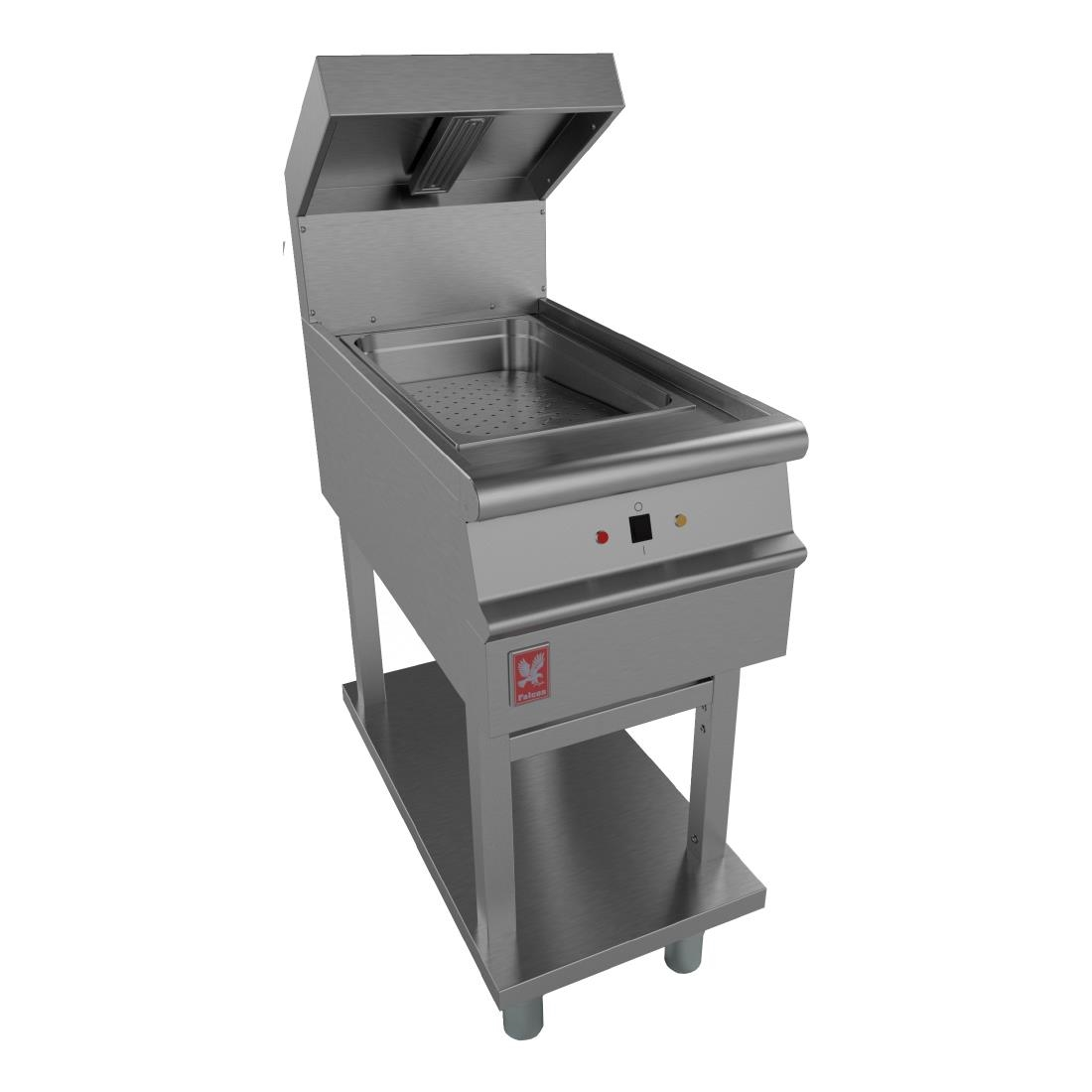 Image of Falcon Dominator Plus Chip Scuttle on Fixed Stand E3405